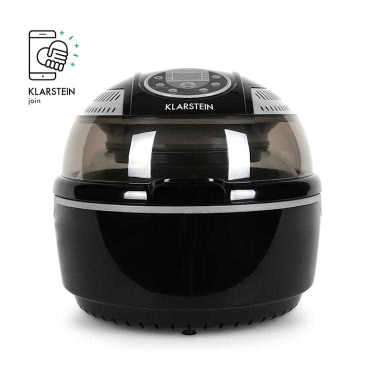 VitAir уред за готвене с горещ въздух 1400W грил и печене, черен Черно