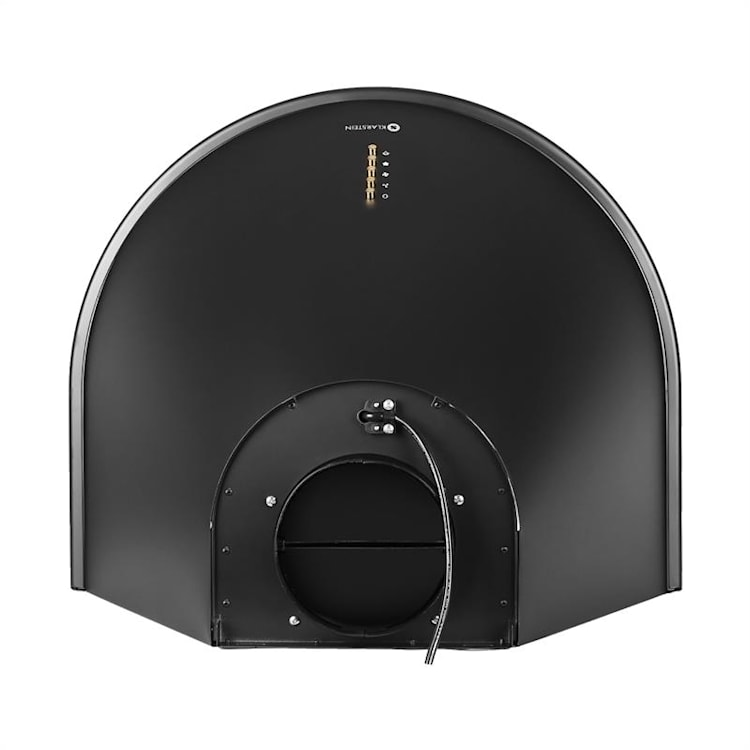 Noir Retro Campana extractora campana cocina montaje mural 60cm negro Negro Mate
