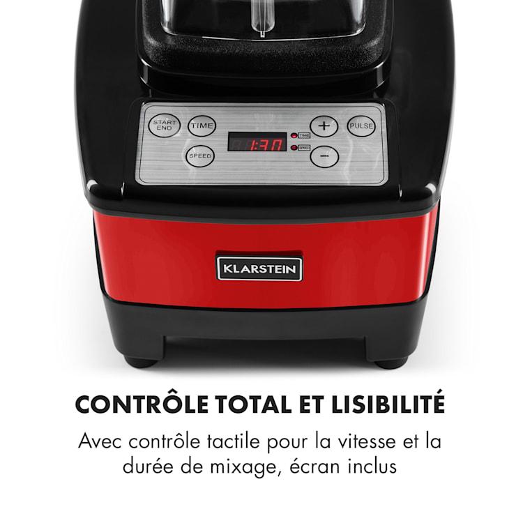 Herakles 4G Mixeur blender sans BPA 2L 1500w 35000t/mn -rouge Rouge