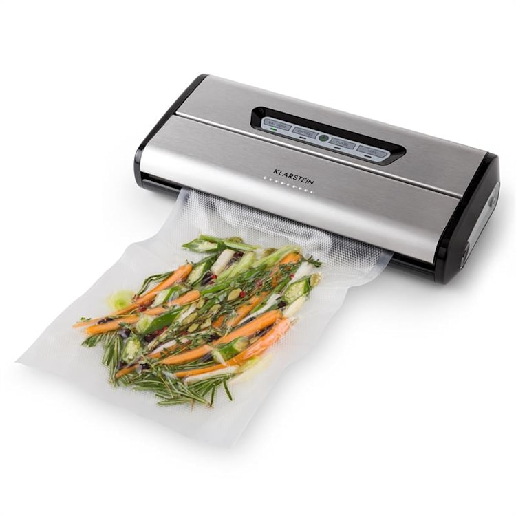 Foodlocker vacuum verpakker roestvrij staal 0,8 bar 16 l/min Standaard: -0,8 bar 16 ltr/min