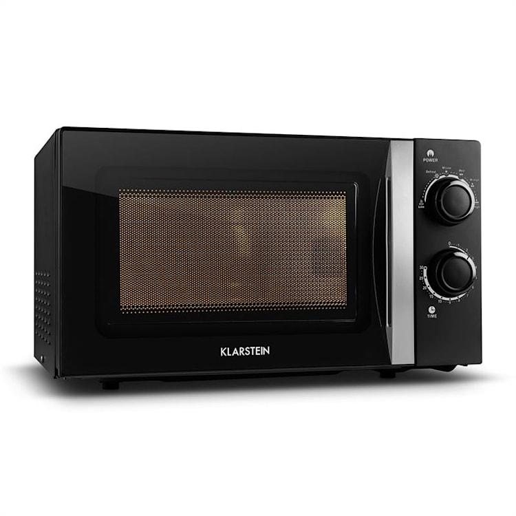 Klarstein myWave, mikrohullámú sütő, 20 l, 700 W, időzítő, fekete Fekete