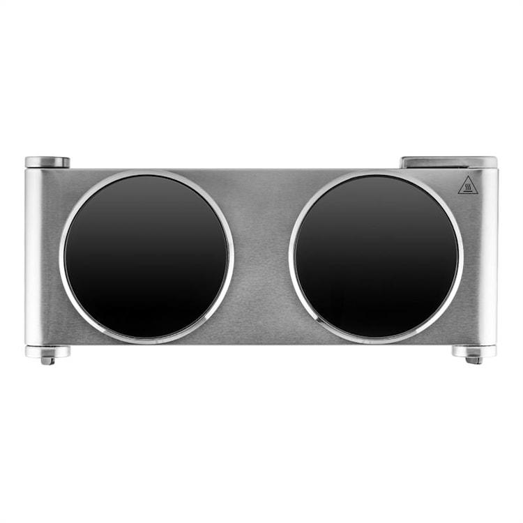 Captain Cook², dupla főzőlap, infravörös,  2400 W, rozsdamentes acél Ezüst