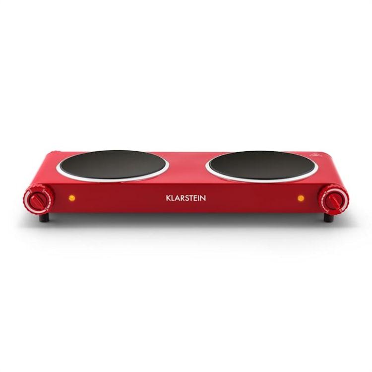 Captain Cook², dupla főzőlap, infravörös,  2400 W, rozsdamentes acél, piros Piros