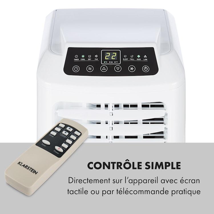 Pure Blizzard 3 2G Climatiseur mobile 7000 BTU /2,1 kW blanc Blanc