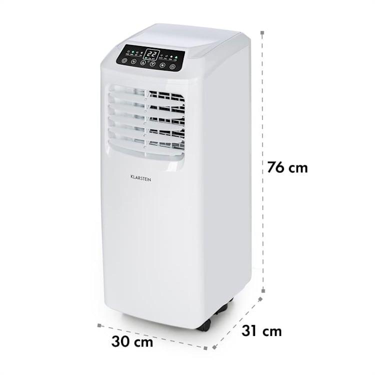 Klarstein Pure Blizzard 3 2G 3 az 1-ben klimatizáció, 808 W/7000 BTU, fehér Fehér