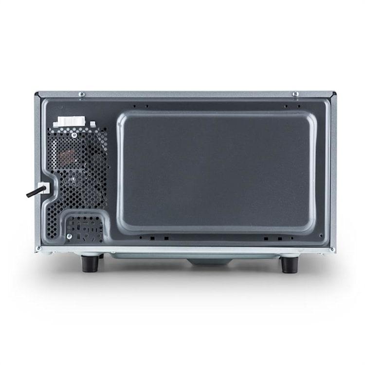 Klarstein Steelwave mikrohullámú sütő 23 l, 800 W, grillező 1000 W, rozsdamentes acél, beépítő keret kerettel