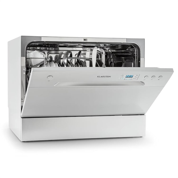 Amazonia 6 lave-vaisselle de table A+ 1380W 6 couverts 49 dB argent Argent