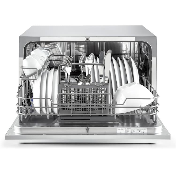 Amazonia 6 Dishwasher 1380W 6 place settings key control panel Silver