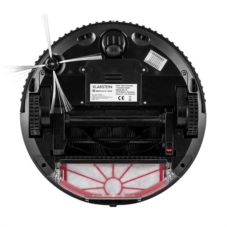 Klarstein Cleanhero, usisavač robot, automatski, daljinsko upravljanje, crni Crna