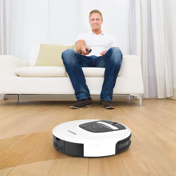 Cleanhero Robotdammsugare Dammsugare Automatisk Fjärrkontroll vit Vit