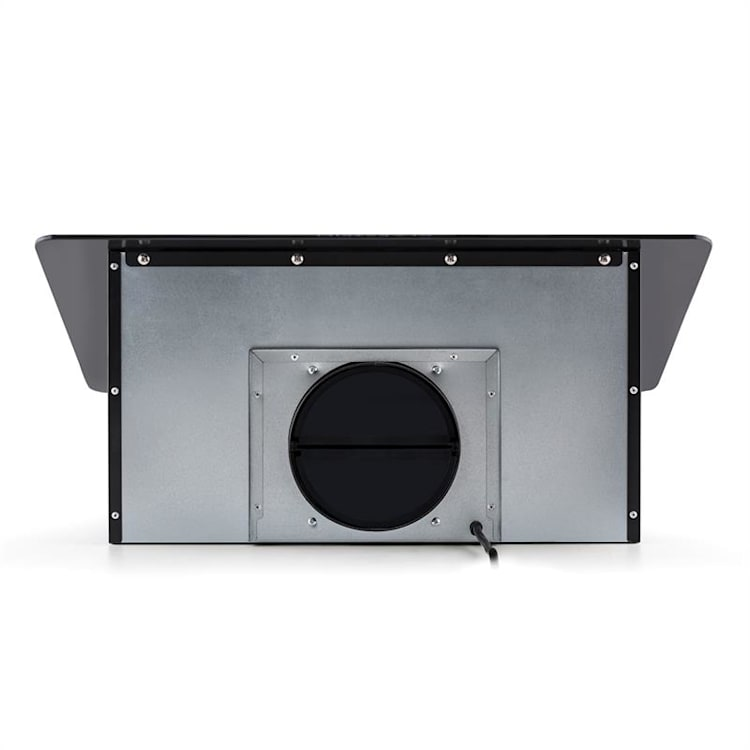 Lorea Campana extractora campana de pared panel táctil 60 cm negro Negro | 60