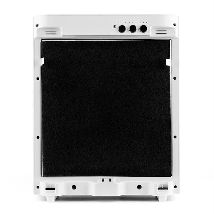 Klarstein Vita Pure 2G ilmanpuhdistin ionisaattori | 5-vaiheinen HEPA suodatin: 99,97% suodatusteho yhdistelmäsuodattimen | 50 m² | 30dB | 55 W | UV-C | kosketus | valkoinen Valkoinen