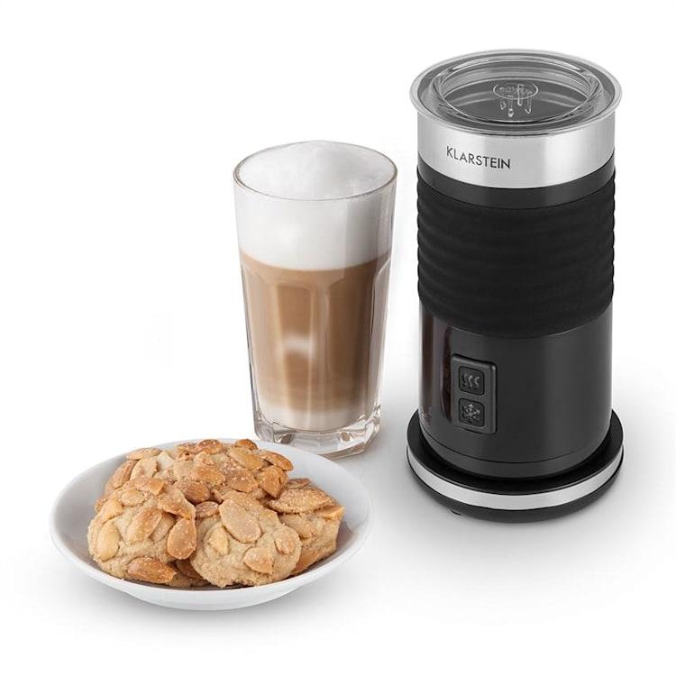 Biancolatte Nero, 500 W, 200 ml, speňovač mlieka, 3-v-1 ohrievač kanvice Čierna