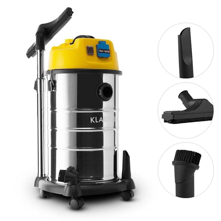 Reinraum, priemyselný vysávač, mokré a suché vysávanie, 1800 W, 30 l 30 litrov