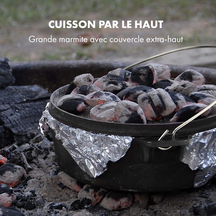 Hotrod Masterplan Set batterie de cuisine pour barbecue 7 pièces Fonte