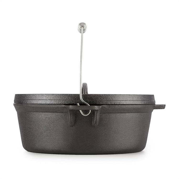 Klarstein Hotrod Quickstick S, fogantyú öntöttvas fazékhoz, Ø26 cm, nemesacél