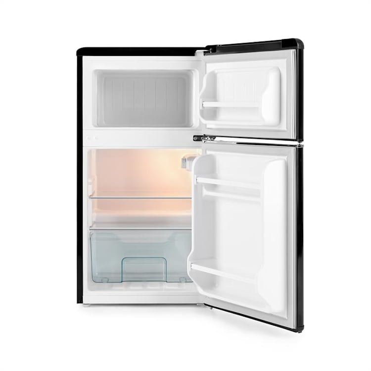 Monroe koel-vriescombinatie 61/24 liter 0 - 10 °C 70 watt Zwart
