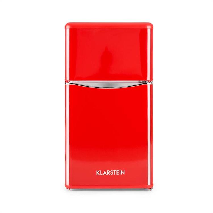 Monroe Red kombinovaná chladnička s mrazničkou 61/24 l A+ Retrolook červená Červená