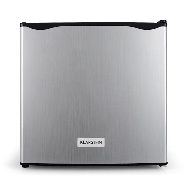 Klarstein Garfield, 65W, pultová mraznička, 35 L, nehrdzavejúca oceľ, A+ Strieborná | 35 litrov