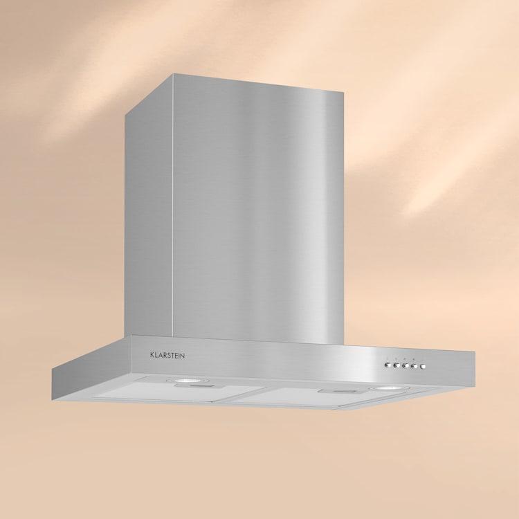 KLARSTEIN ZARAH, hotă de bucătărie, oțel inoxidabil, 60 cm, 620 M3/h, montaj pe perete