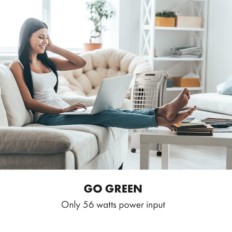 Maxfresh Fan Air Cooler Humidifier 444m³ / h 6L Remote Control White