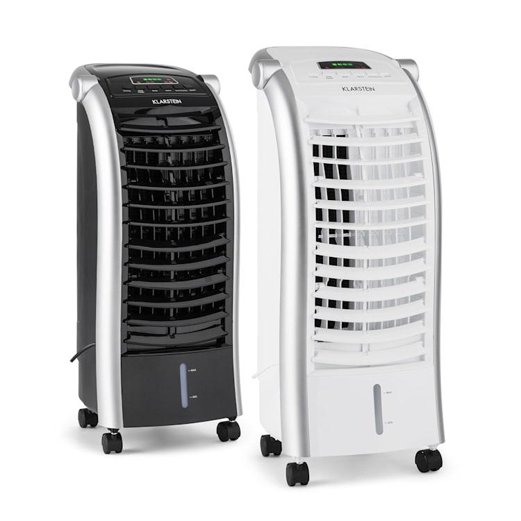 MAXFRESH WH вентилатор охладител на въздуха 6L 65W дистанционно управление пакети лед Бял