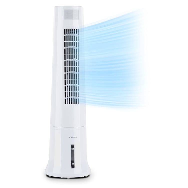 Highrise 3-in-1 Air Cooler 35W Air Flow 530 m³ / h Max. 2.5L Ice Pack White White