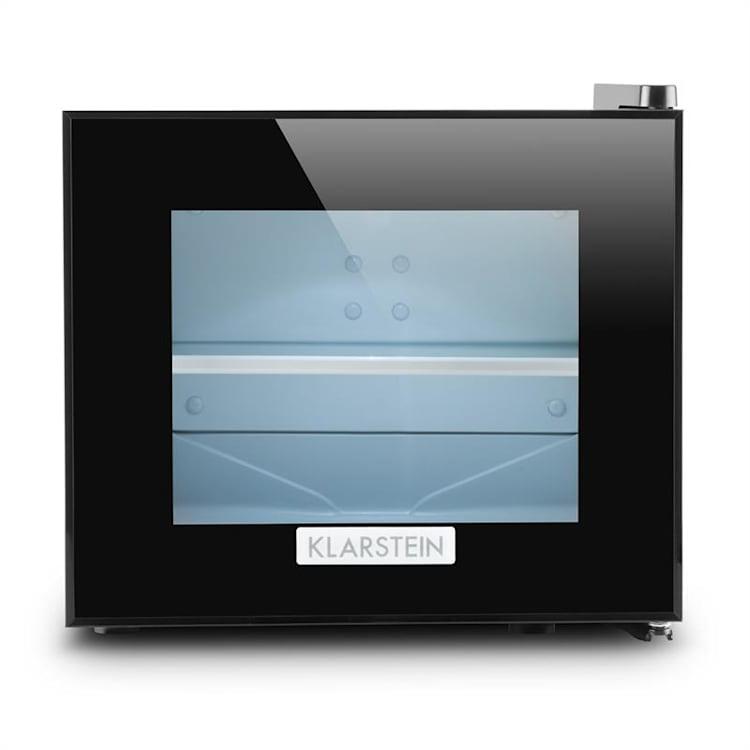 Klarstein Frosty, čierna, mini chladnička, 10 litrov, 65 W, trieda B