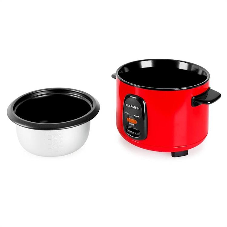 Osaka 1 Cuiseur à riz 1 litre fonction réchaud - rouge 1 L / Rouge