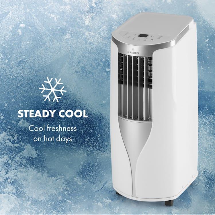 New Breeze 9, mobilná klimatizácia, 2.7 kW, trieda energetickej účinnosti A, diaľkový ovládač, biela Biela
