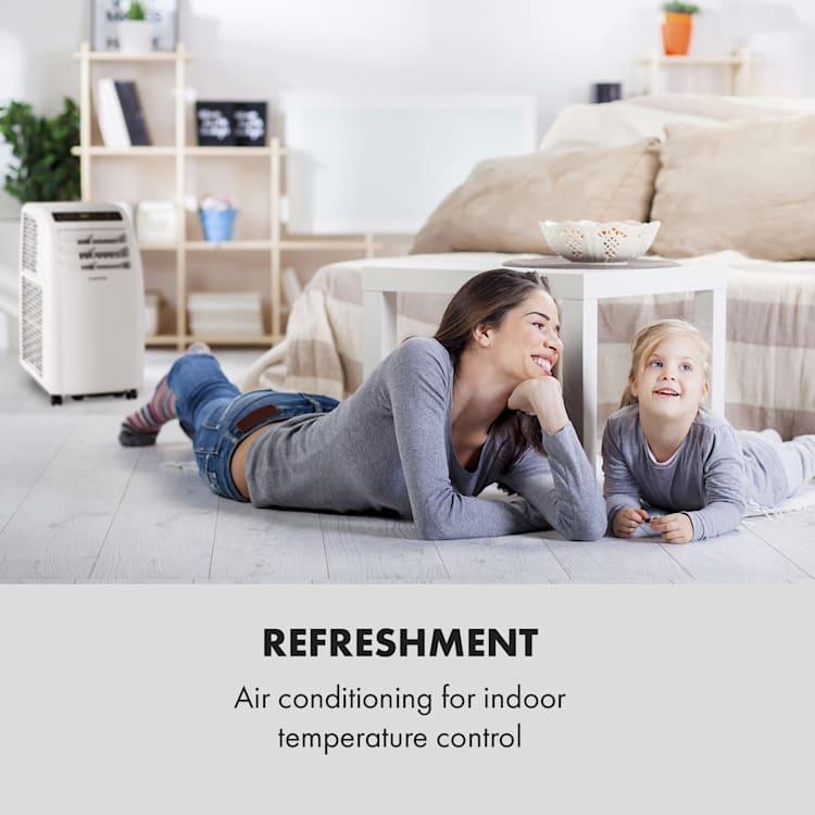 Klarstein Metrobreeze Rom klimatizáció, 10000 BTU, A+ osztály, távirányító, fehér Fehér