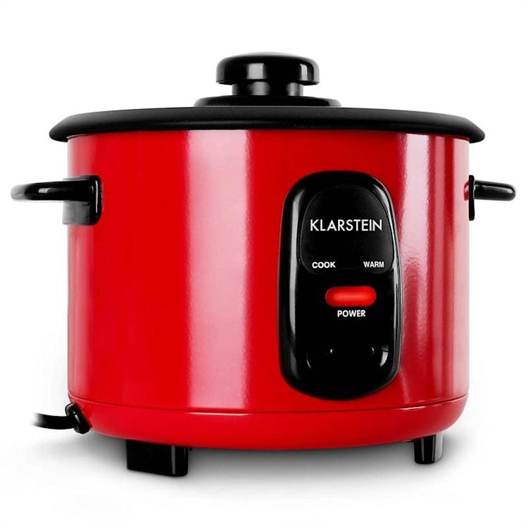 Klarstein Osaka 1,5, červený, varič na ryžu, 500 W, 1,5 liter, funkcia udržania tepla 1,5 Ltr / Červená