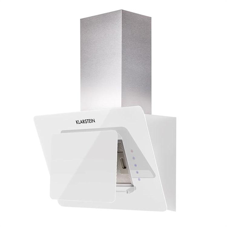 Klarstein Lorea cap extractor gratuit 60 cm 280 m³ / h sticlă Touch alb Alb | 60