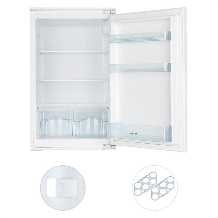 Klarstein Coolzone 130, biela, vstavaná chladnička, A+, 130 l, 54 x 88 x 55 cm Biela | 130 litrov