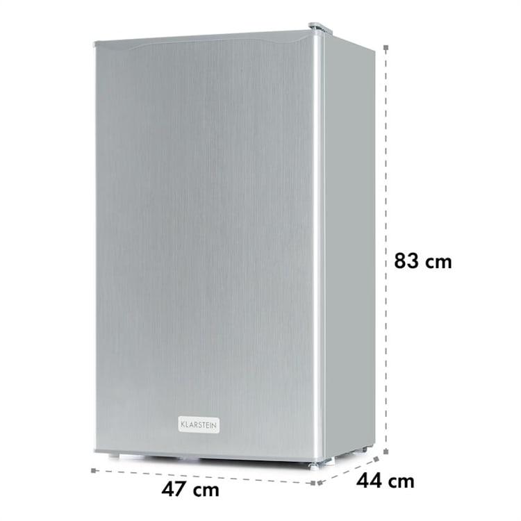 Klarstein Beerkeeper chladnička, 92l, energetická trieda A+, 3 úrovne, strieborná Strieborná