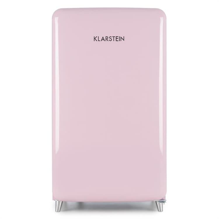PopArt Pink retro chladnička A++, 108 l / 13 l mraziarenský priestor, ružová Ružová