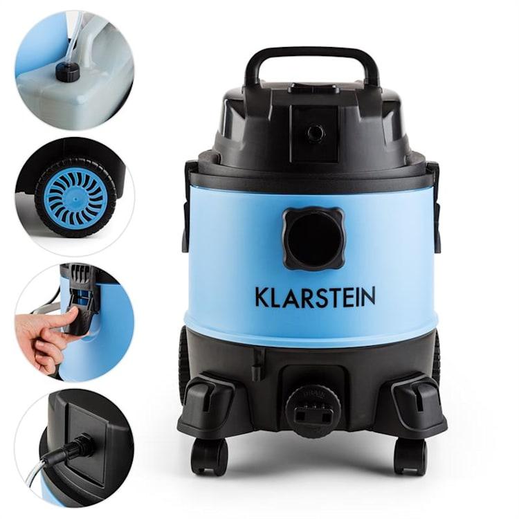 Reinraum 2G, kombinovaný vysávač, pre mokré/suché vysávanie, čistič kobercov, 1250 W, 20 l