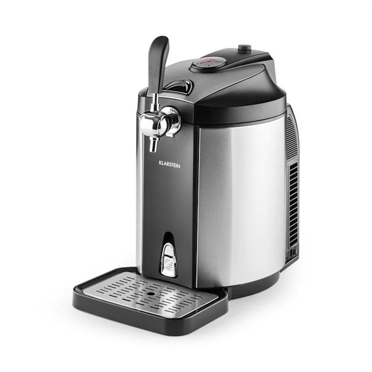 Skal Beer Tap Dispenser Beer Cooler 5 l Kegs CO2 Stainless Steel Silver