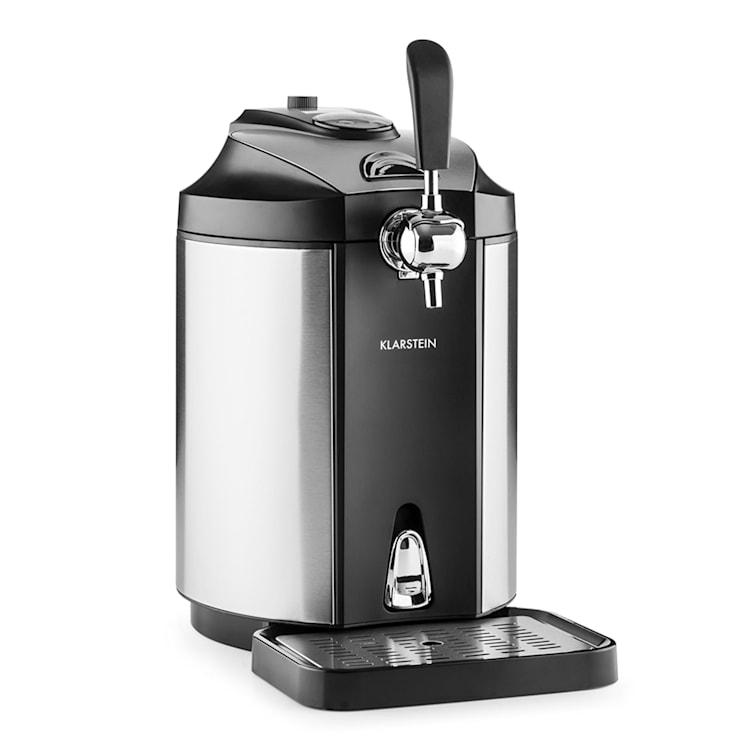 Klarstein Skal, sörcsap, sör hűtése, 5 literes hordó, CO2, nemesacél Ezüst