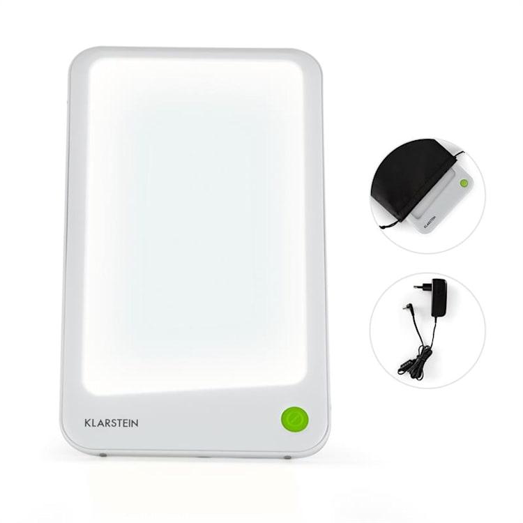 Summershine Slim Lampada Solare Fototerapia LED 10.000 Lux Bianca