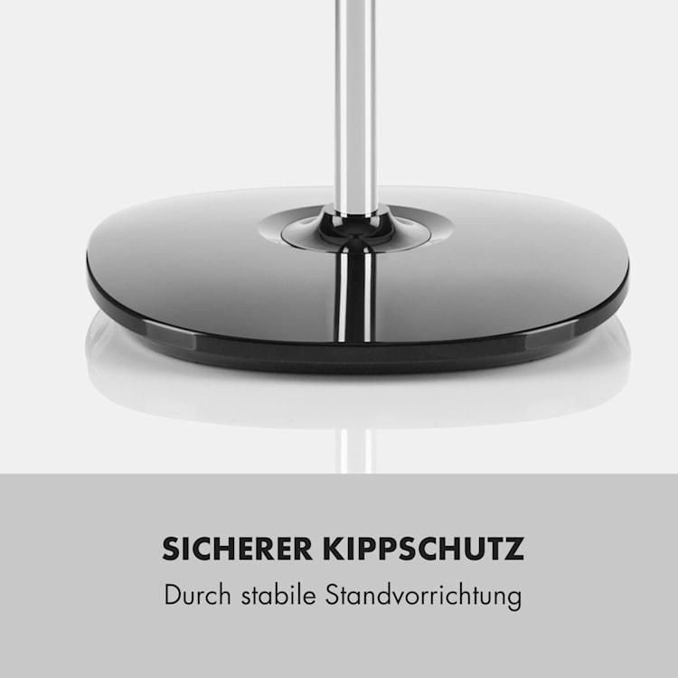 "Silent Storm Standventilator 16""(41cm) 5-Blatt 32 dB min.25,8W schwarz Schwarz"
