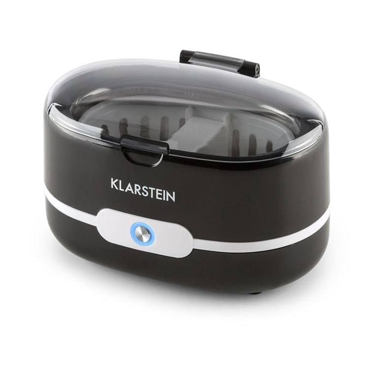 Superpure ultrazvukový čistič, čistič okuliarov, čistič nečistôt, čierna farba Čierna