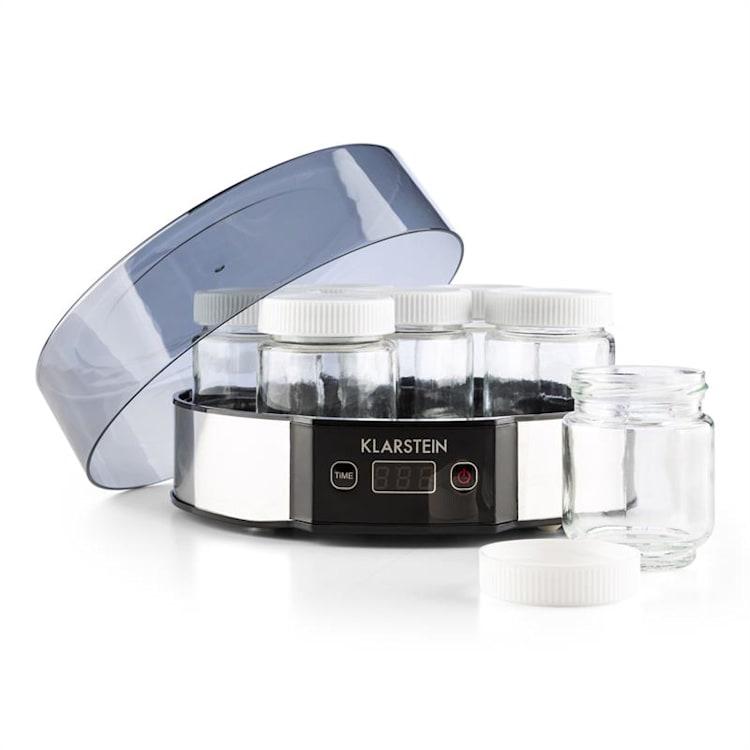 Milchstraße, jogurtovač, 7x190 ml, sklo, 14 hod. časovač, ušľachtilá oceľ