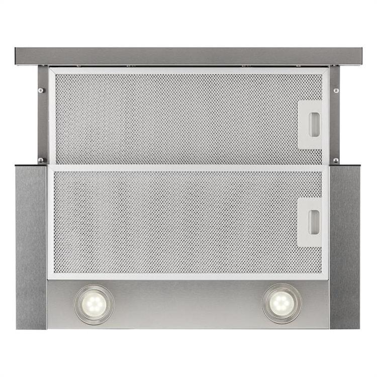 Vinea vestavná digestoř, plochá konstrukce, 60 cm, stříbrná Stříbrná