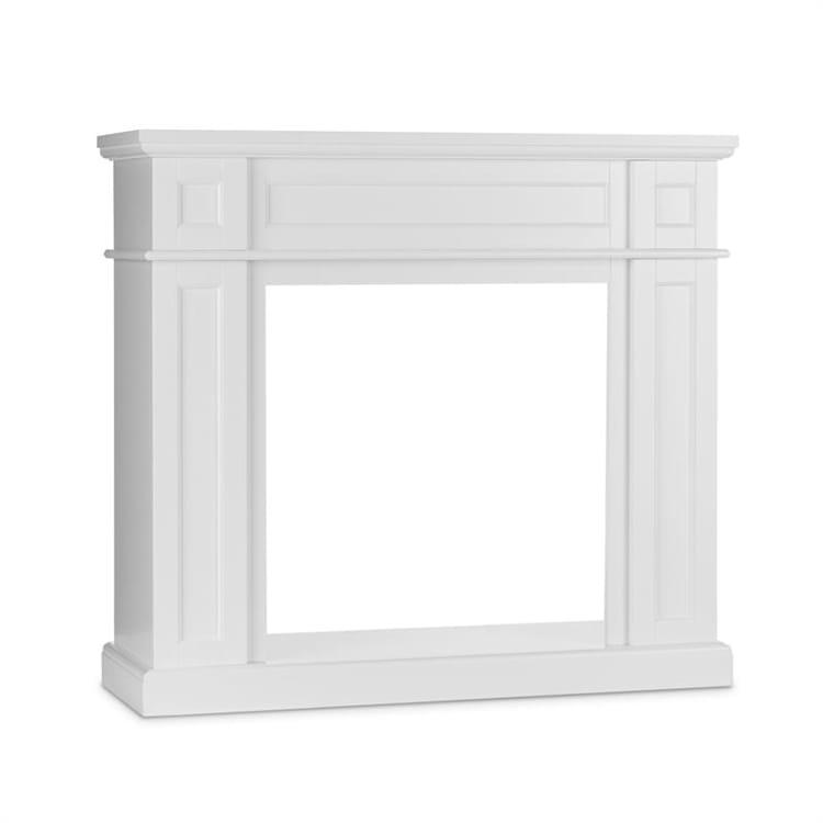 Lausanne Frame, krbová konštrukcia, MDF, klasický dizajn, biela without fireplace inset