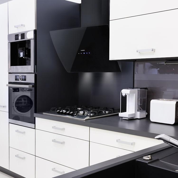 Annabelle 60 Hotte aspirante en verre 615 m3/h panneau tactile noir Noir | 60 cm