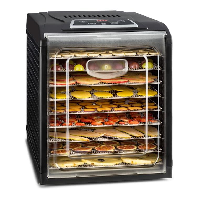 Fruit Jerky Plus 9 Dörrautomat Timer 9 Ablagen 600-700 W 35-70 °C 9 Etagen