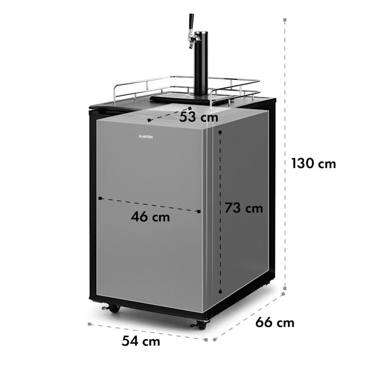 Big Spender Single, hladnjak za bačve, točionik, bačve do 50 L