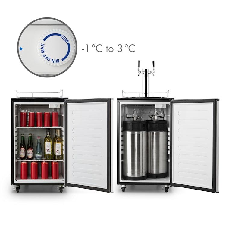Big Spender Double, söröshordó hűtő, hordók 50 l-ig