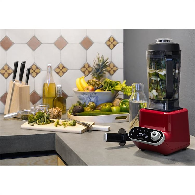 Olympus R Standmixer 1400W 1,8 PS Suppenmixer mit Heizfunktion Rot